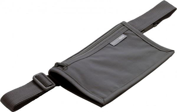 Design GO 557 Geldgürtel / Bauchtasche 'cash carrier' in der Farbe grau
