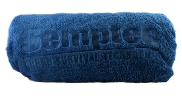 Semptec Mikrofaser-Badetuch, Grösse 180x90 cm, Farbe blau