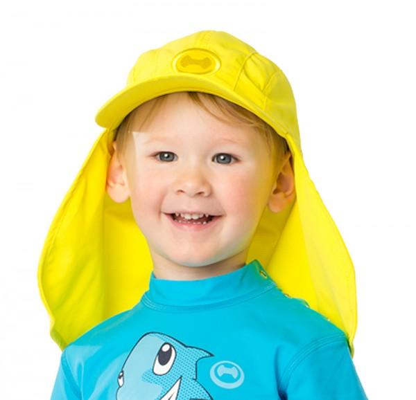 UV Sonnenhut 'lemon' für Kinder mit UPF 80 Grösse 46-48 von hyphen