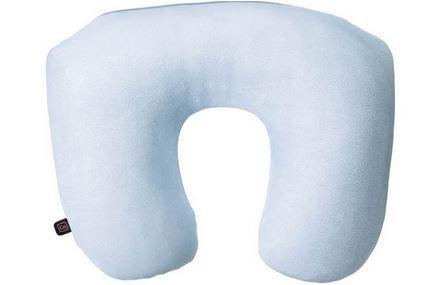 Design GO 456 Reisekissen Nackenkissen 'Travel Pillow 2-in1' hellblau für den Flug
