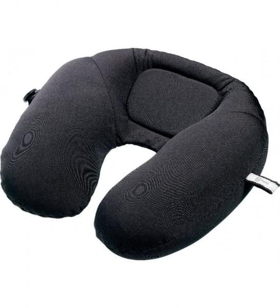 Design GO 460 Reisekissen / Nackenkissen 'Bean snoozer' für den Flug, Farbe schwarz