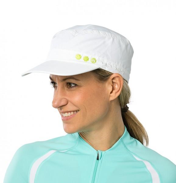UV  Sonnenhut 'white' für Erwachsene mit UPF 80 Grösse 54-56 von hyphen