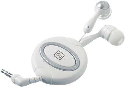 Versenkbare Ohrhörer. Ideal für Musik, Filme und Spiele. Von GO Travel