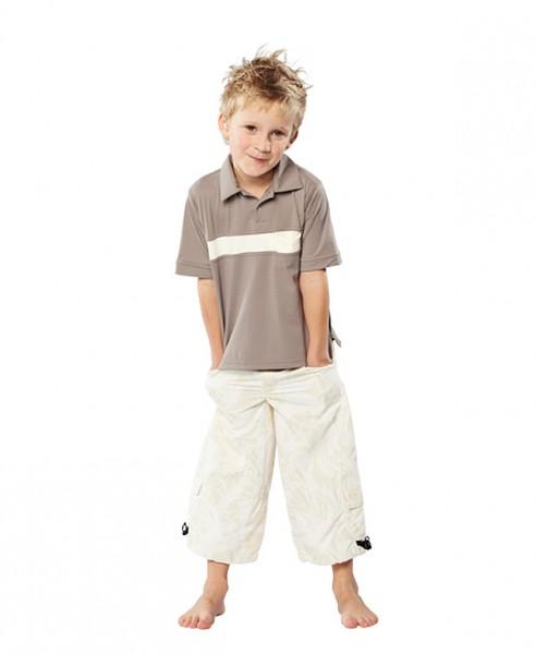 UV Sonnenschutz Kurzarmshirt 'macchiato' für Kinder mit UPF 80 von hyphen