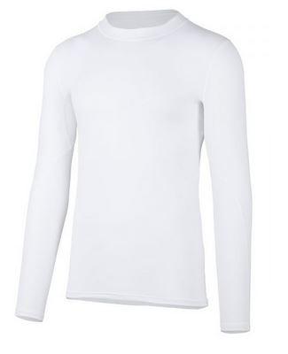 HERREN Langarmshirt 'Shellshirt weiss'