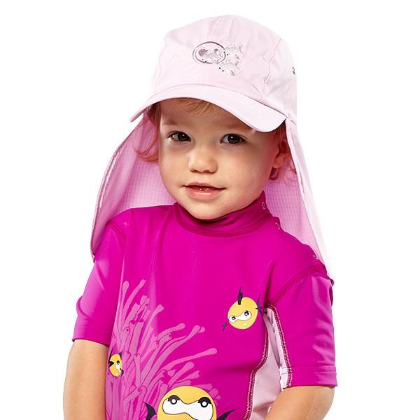 UV  Sonnenhut 'cameo rose' für Kinder mit UPF 80 Grösse 46-48 von hyphen