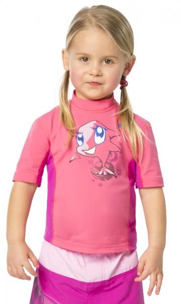 UV Sonnenschutz Kurzarmshirt 'siri phlox' für Kinder mit UPF 80 von hyphen