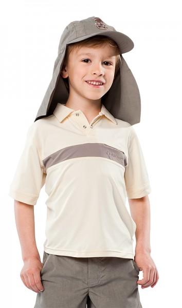 UV Sonnenschutz Poloshirt 'ovo' für Kinder mit UPF 80 von hyphen