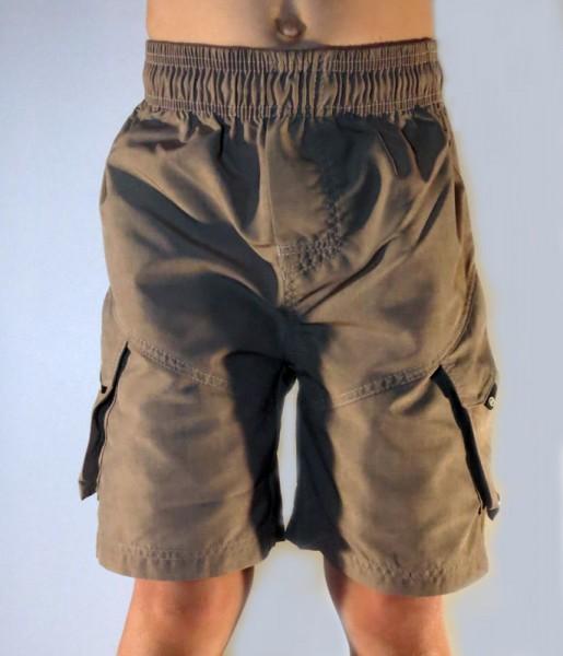 UV Sonnenschutz Shorts 'camino matrix macchiato' für Kinder mit UPF 80 von hyphen