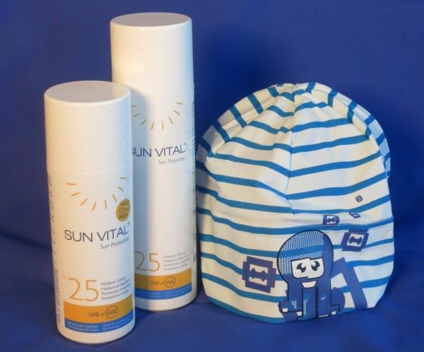 SUN VITAL Sonnenmilch mit LSF 25  / 100 ml von Goloy33