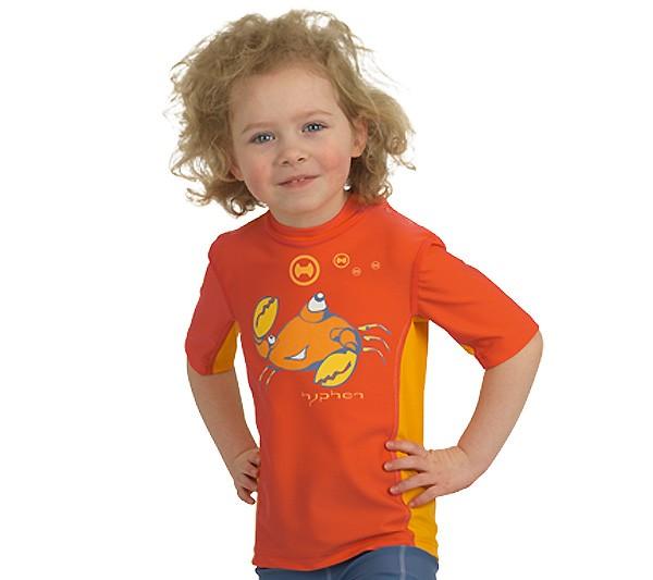 UV Sonnenschutz Kurzarmshirt 'ike oron' für Kinder mit UPF 80 von hyphen