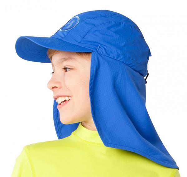 UV  Sonnenhut 'cobalt' für Kinder mit UPF 80 Grösse 54-56 von hyphen