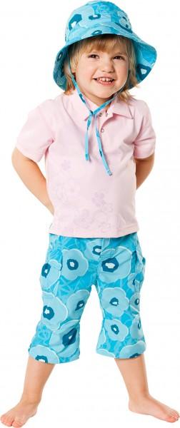 UV Sonnenschutz Kurzarmshirt Poloshirt 'bambuu' für Kinder mit UPF 40 von hyphen