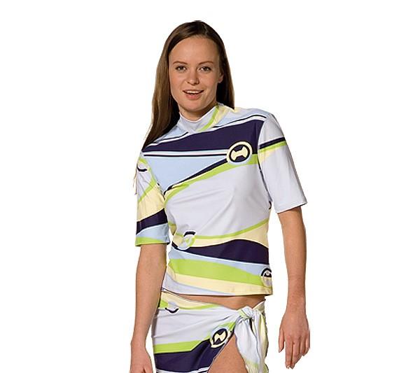 UV Sonnenschutz Kurzarmshirt 'honolua' 50295 für Frauen mit UPF 80 von hyphen