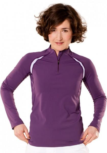 UV Sonnenschutz Langarmshirt 'capdakuni amaranth' 51107 für Frauen mit UPF 80 von hyphen