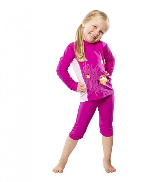 UV Sonnenschutz Langarmshirt 'hideaway' für Kinder mit UPF 80 von hyphen