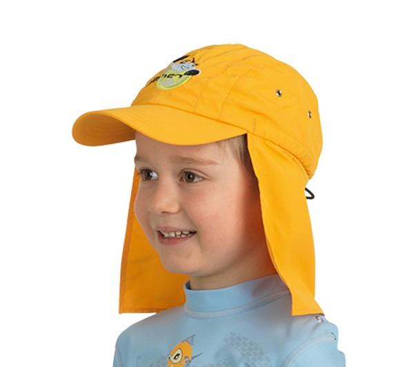 UV  Sonnenhut 'ike mango' für Kinder mit UPF 80 Grösse 46-48 von hyphen