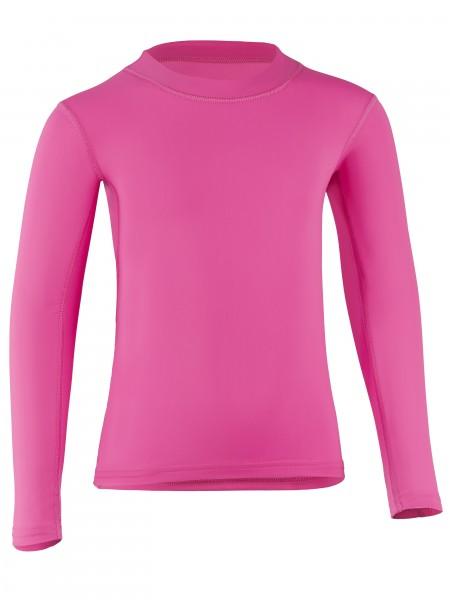 UV Sonnenschutz Langarmshirt 'lachs' für Kinder, UPF 80, UV Standard 801, Marke hyphen, Öko-Tex Standard 100