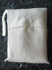 Seidenschlafsack mit Reissverschluss zum Reisen in ecru-weiss 110x250 cm mit Kopfteil