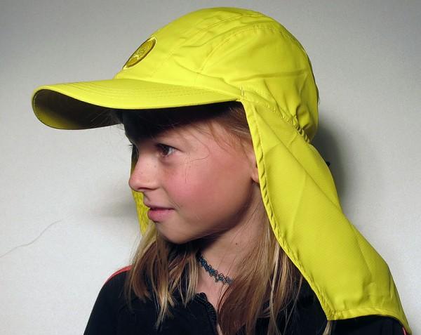 UV  Sonnenhut 'lemon' für Kinder mit UPF 80 Grösse 50-52 von hyphen