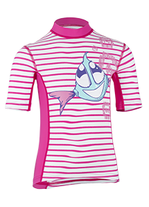 Kinder Kurzarmshirt 'sweet siri striped magli/magli