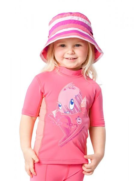 UV Sonnenschutz Kurzarmshirt 'chrissy phlox' für Kinder mit UPF 80 von hyphen