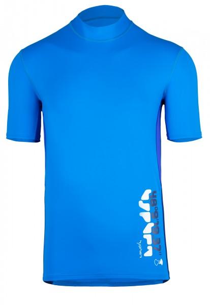 UV Sonnenschutz Herren Kurzarmshirt 'coo cielo' mit UPF 80 von hyphen