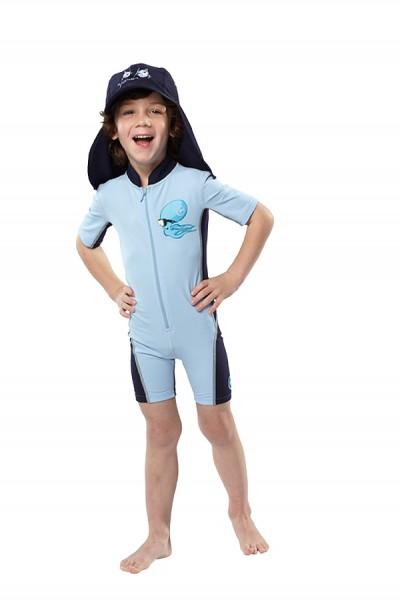 UV Sonnenschutz Shorty 'srolling ocy' für Kinder mit UPF 80 von hyphen