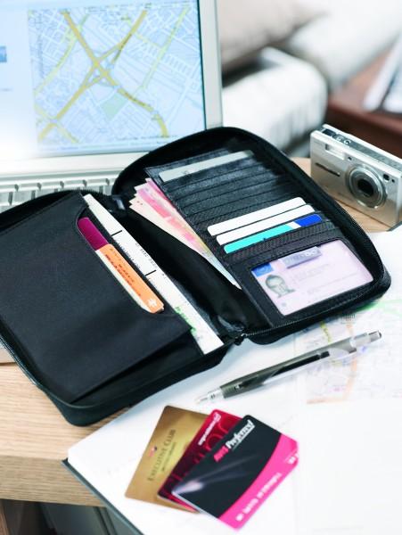 Dokumententasche 'Travel Wallet' für unterwegs