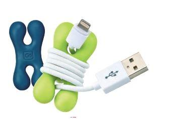 2 Kabelklemmer für Kopfhörer und Ladegerätekabel von GO Travel
