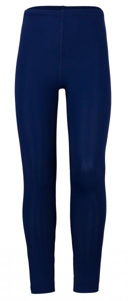 UV Kinder-Leggins 'blue iris' Knöchellange Hose in der Farbe Dunkelblau. UPF 80, UV Standart 801 in verschiedenen Grössen