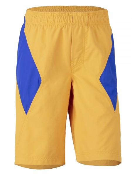 Kinder Bade-Shorts 'tangerine/cobalt mit UPF 80 von Hyphen