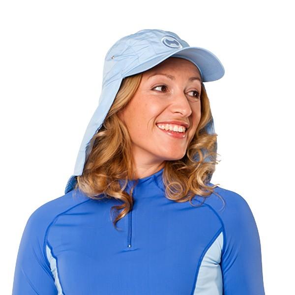 UV  Sonnenhut 'pid blue' für Erwachsene mit UPF 80 Grösse 58-60 von hyphen