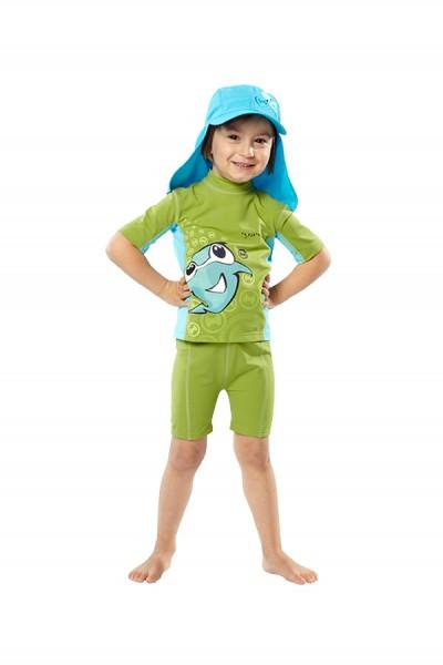 UV Sonnenschutz Shorts 'parogreen' für Kinder mit UPF 80 von hyphen