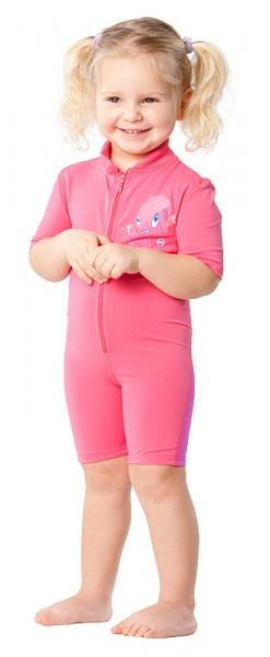 Sonnenschutz Shorty 'chrissy phlox' für Kinder mit UPF 80 von hyphen