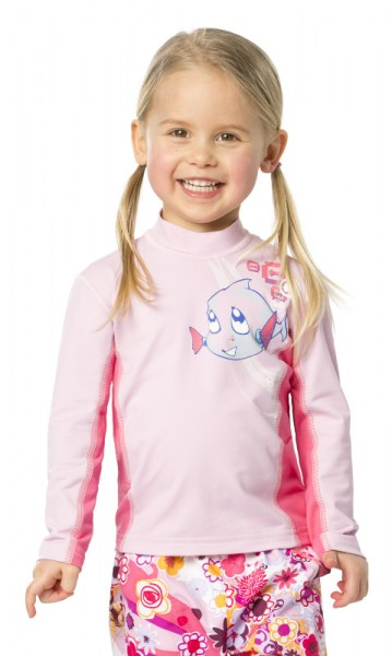 UV Sonnenschutz Langarmshirt 'hey snups cameo rose' für Kinder mit UPF 80 Marke hyphen