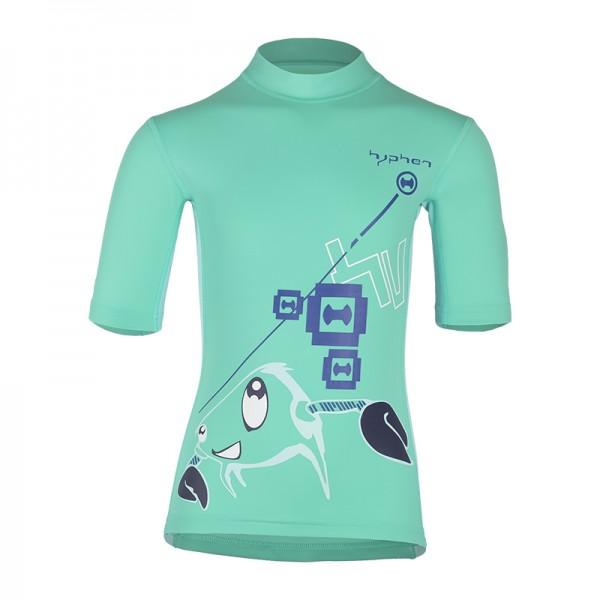 UV Sonnenschutz Kurzarmshirt 'oqea-wi baton rouge' für Kinder mit UPF 80 von hyphen